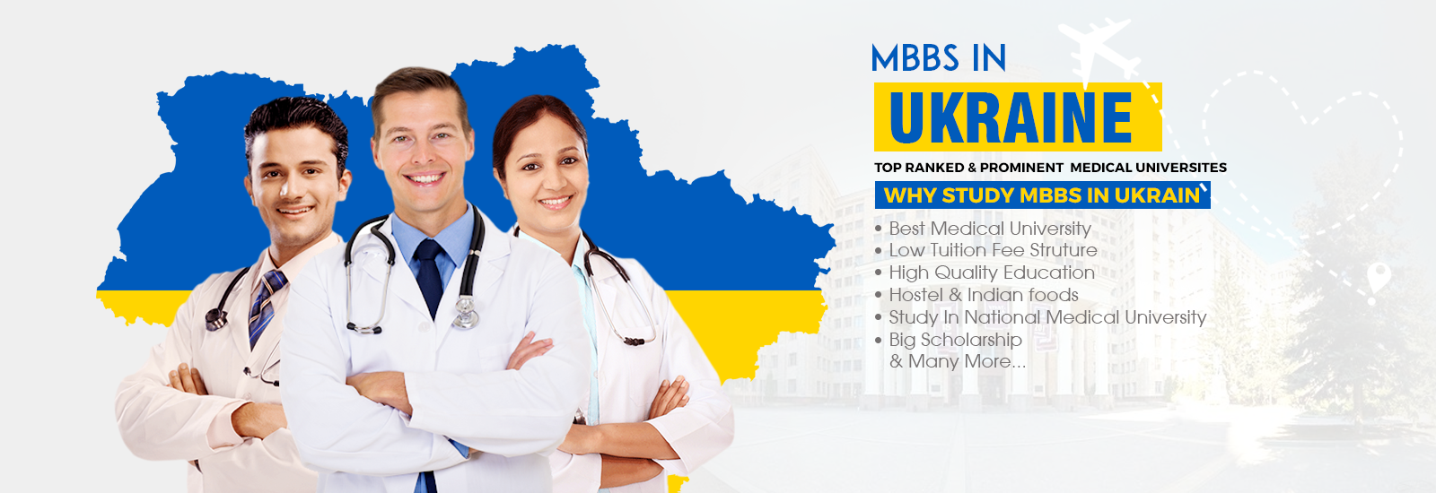 Get a Skilled MBBS Doctor Advice with Eurasia- Study Abroad